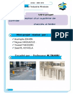 Miniprojet Automatismes 2009-2010