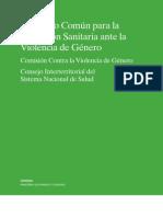 Protocolo Sanitario ante la violencia de género