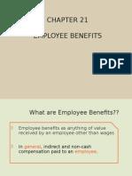 Chapter 21 Emplyee Benefits