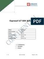 Espressif IoT SDK Manual in Chinese v0.9.5