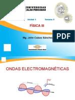 FISICA3CICLO3 SEM 8 - Ondas Electromagnéticas y La Luz