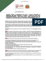 Decreto 1816 2013 de Itu SP