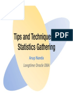 Statistics Gathering Tips and Tricks