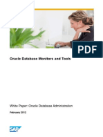 Oracle Database Monitors and Tools