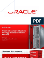 TriZetto 2014 HCC Oracle Engineered Systems Strategy
