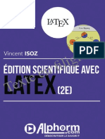 Formation LaTeX 2e