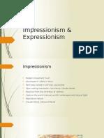 Impressionism & Expressionism