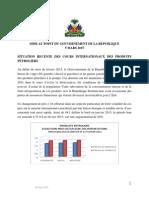 Situation Des Prix Des Produits Petroliers Note 5 Mars 15