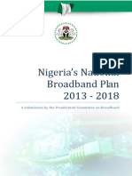 The Nigerian National Broadband Plan 2013_19May2013 FINAL