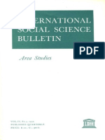 Unesco - ISSB - Dossier on Area Studies