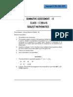 Class 10 Maths SA2 (1)