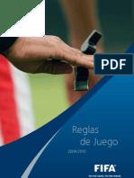 Reglamento oficial FIFA