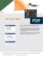 UHF Module M900 - AbleID