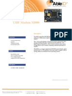 UHF Module M800 - AbleID