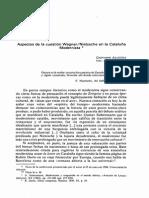 Aspectos de La Cuestion Wagner Nietzsche en La Cataluña Modernista