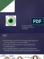 Desarrollo Embriológico Del Ojo y Del Oido