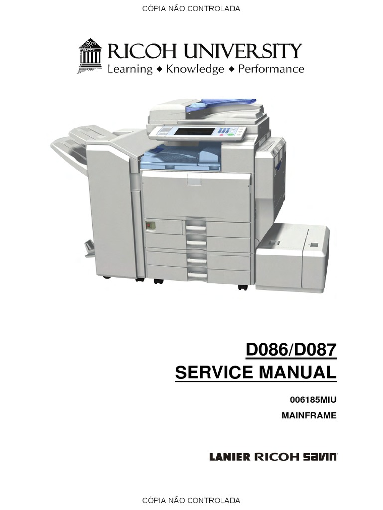 ricoh aficio mp c305 service manual free user guide u2022 rh globalexpresspackers co Aficio MP 2554 Ricoh MP 301SPF