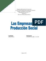 Las Empresas de Producción Social