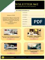 PHR Newsletter #2 September December