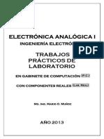 Guias Laboratorio Electrónica Analógica I 2013