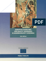 European Guidelines for Quality Assurance in Mammography Screening
