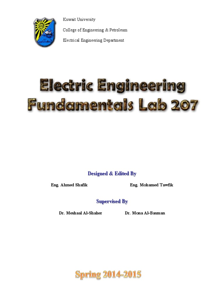 Circuit Lab Manual Fuse Electrical Series And Parallel Circuits Rlc Details