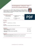Pramesh Electrical Draughtsman Electrical 4yrs