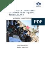 PADR Training Report July 13-18-2012_Gerson Geraldo Machevo