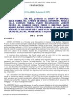 96 La Vista Association Inc vs Court of Appeals