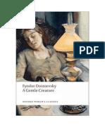 Uma Criatura Dócil - Dostoievski