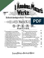 Figaro k.492 Act i. Orquesta