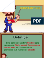 Didactic Ro 4substantivul