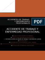 Accidente y Enfermedad Laboral