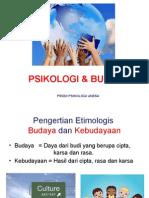 Psikologi Dan Budaya