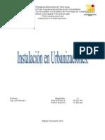 Instalaciones Urbanizaciones II