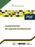 Componentes de Soporte Institucional