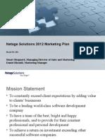 2010 Marketing Plan Draft 2