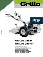 G85 G85d G107d Operator's Manual 2013