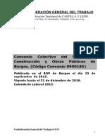 BU Construccion Obras Publicas Convenio Colectivo