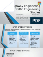 Traffic Studies Complete