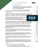 CETking Worldbank Article OnGlobal Meltdown