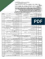 Bise Fsd Matric Date Sheet 2015