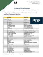 Caterpillar Master Glossary Latin Spanish-REVISION 2013-08-01