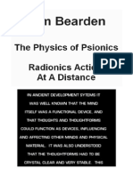 Tom Bearden - The Physics of Psionics - Radionics Action at a Distance