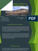 Minera Chinalco Perú s Eia