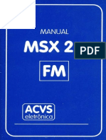 Manual MSX2+ ACVS