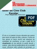 Taller de Cine Club Escolar