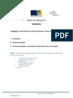 Relatório - Telma Oliveira