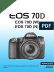 Manual Portugues Canon 70D