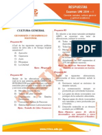 TRILCE Respuestas Uni2014I Aptitud